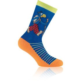 Rohner Globi Trekking Socks Kids royal-blue
